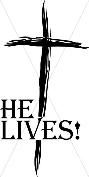 Resurrection Clipart He Lives.