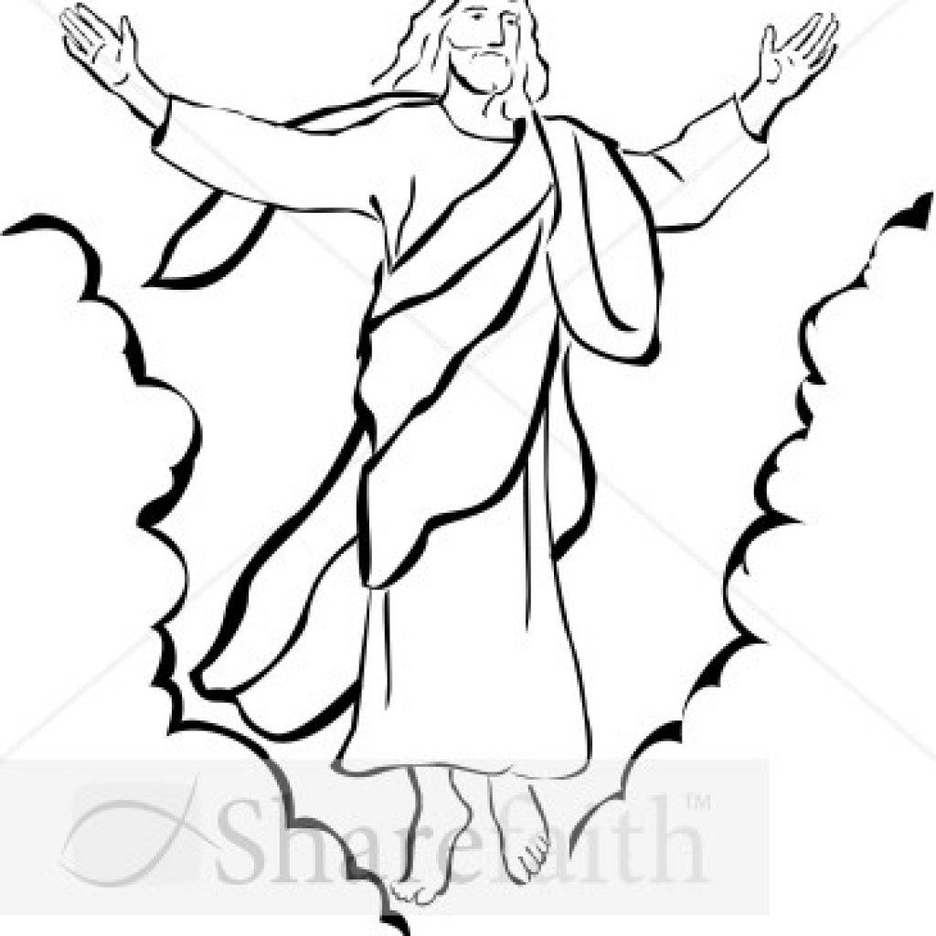 Jesus Resurrection Drawing.