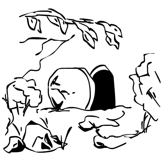 Resurrection clipart black and white 6 » Clipart Portal.
