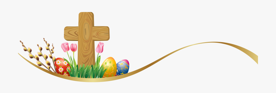 Png Library Library Resurrection Cross Clipart.
