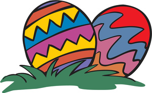 Free Easter Eggs Clipart Image 0527.