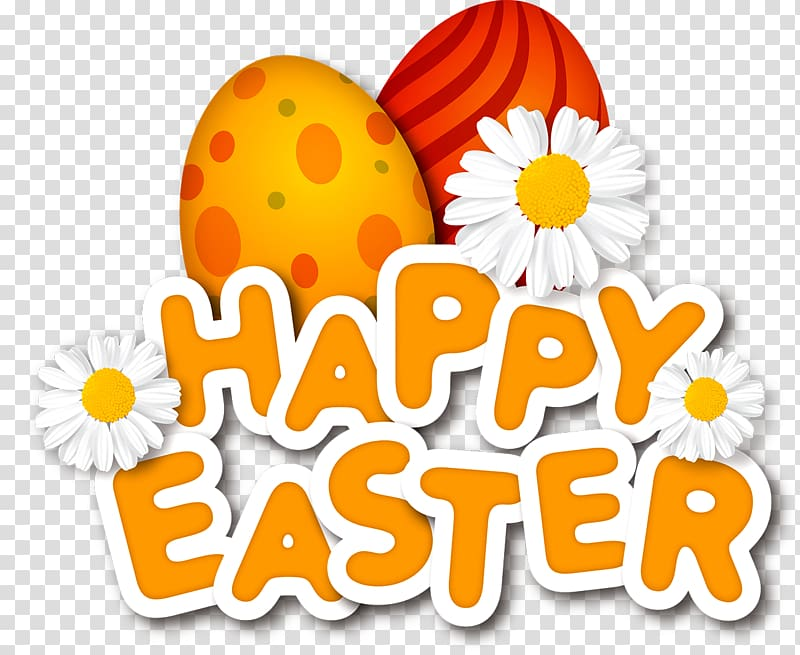 Easter Bunny frame Easter egg, Easter eggs transparent.