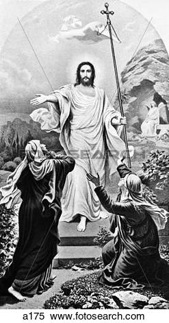 Stock Image of Jesus Christ The Resurrection Easter a175.