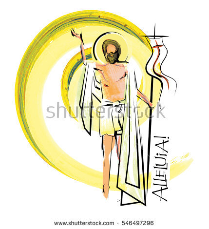 Resurrection Stock Images, Royalty.