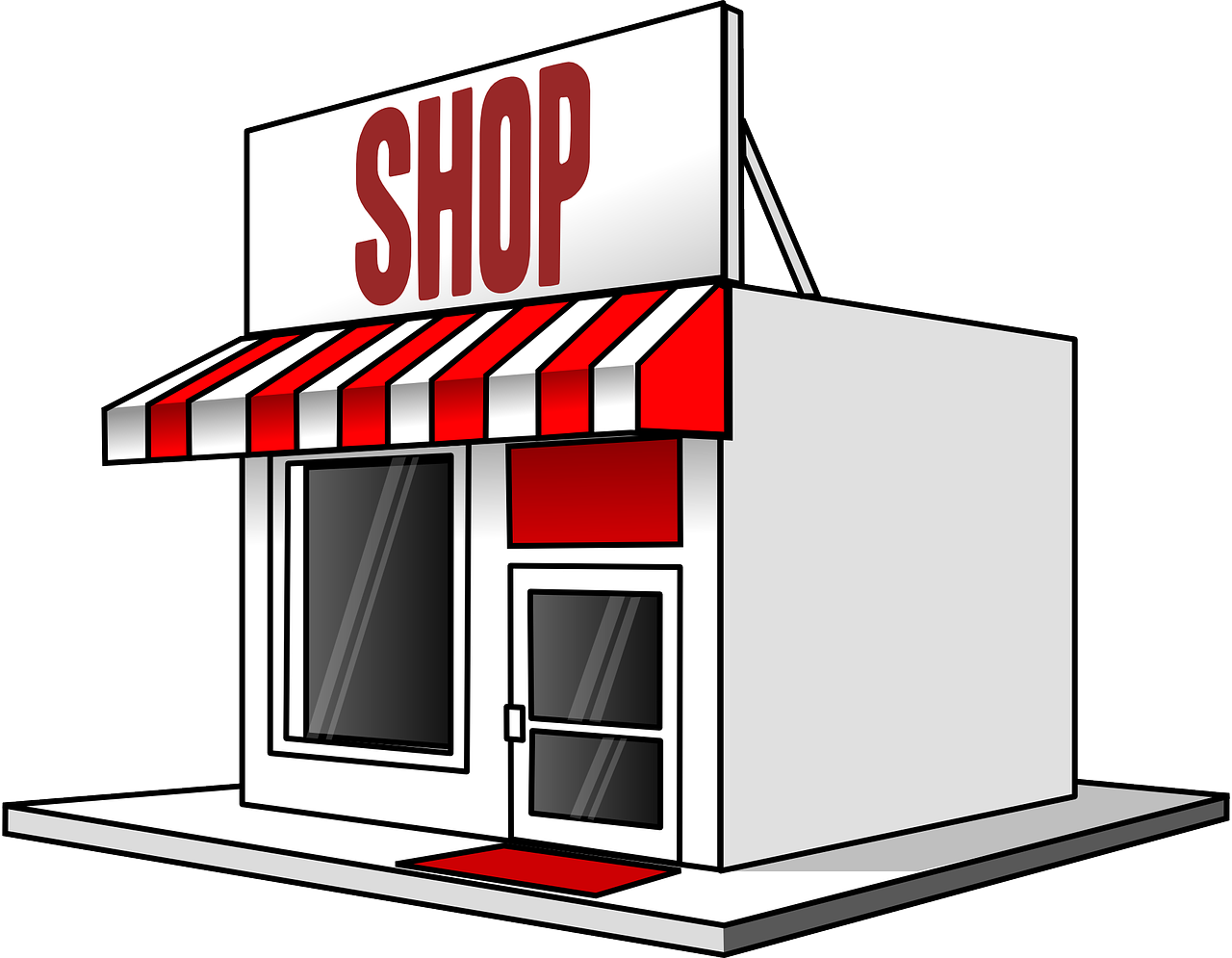 Retailers Clipart Group with 52+ items.