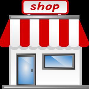 Retail Building Clipart.