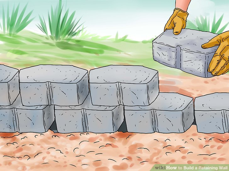 How to Build a Retaining Wall (with Pictures).
