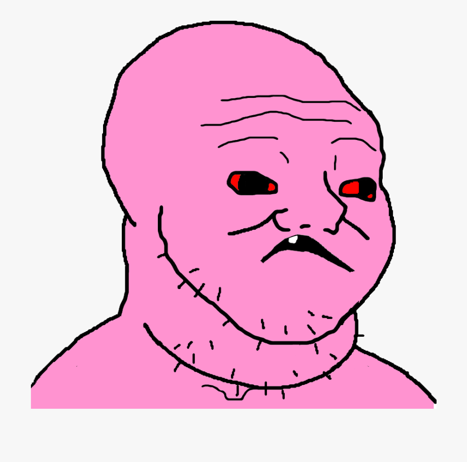 Retarded Wojak , Transparent Cartoon, Free Cliparts.