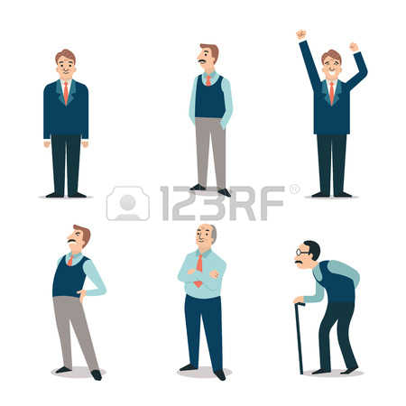 2,141 Retired Man Stock Vector Illustration And Royalty Free.