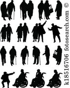 Retired people Clipart Royalty Free. 897 retired people clip art.