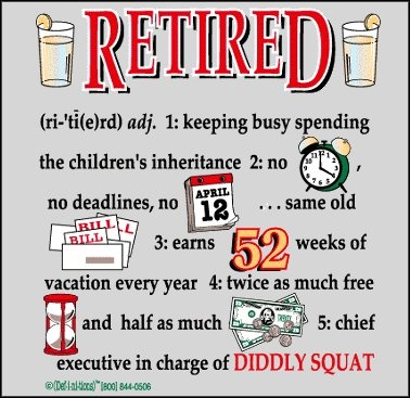 The 33 best images about Retired and Lov'en It! on Pinterest.