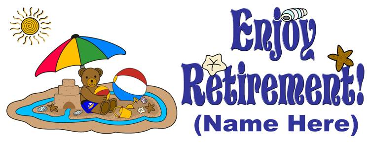 Retirement clipart farewell images free clipart.
