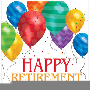 Clipart For Retirement Celebrations.