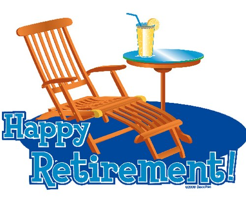 Retirement Borders Clipart.