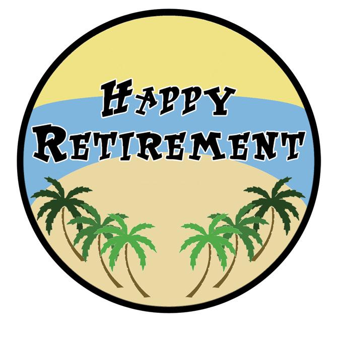 Retirement Clipart.