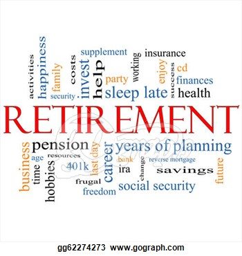 Free retirement clip art borders.