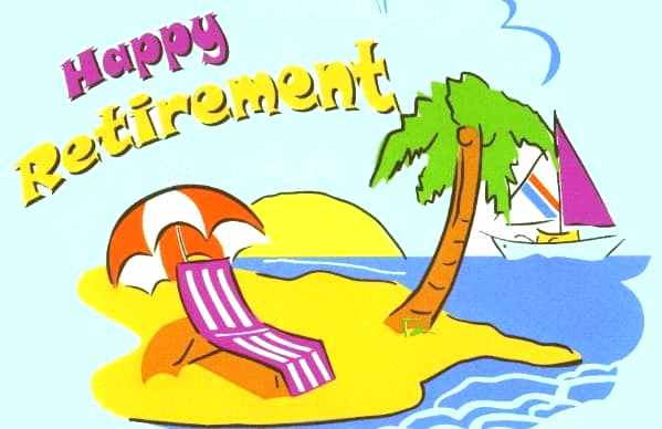 Funny Retirement Clipart.