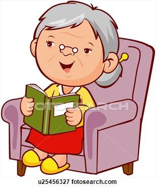 Woman Retirement Clipart.