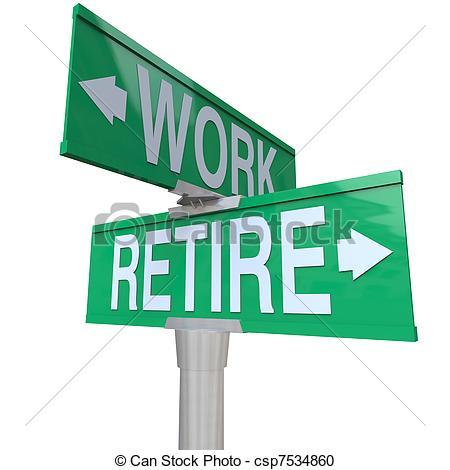 Retirement Clip Art Images.