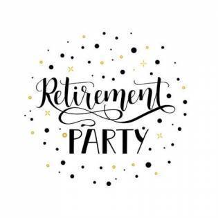 Retirement Party Clipart.