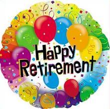 Free Retirement Celebration Clipart.