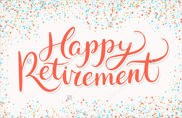 retirement banners free.