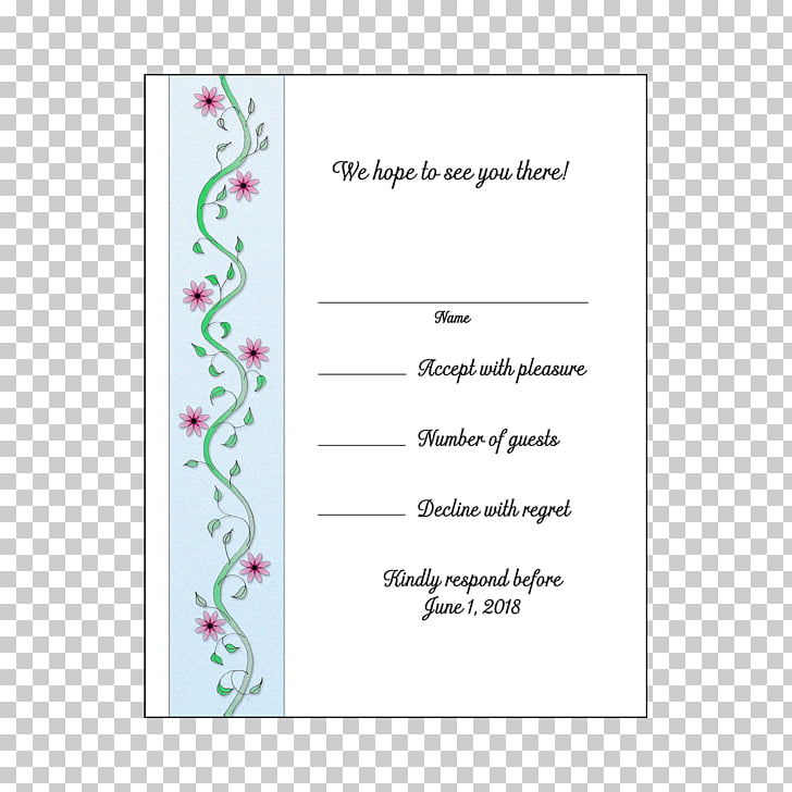 Wedding invitation Paper Party Convite, Retirement party PNG.