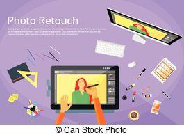 Photo retouching Illustrations and Clip Art. 33 Photo retouching.