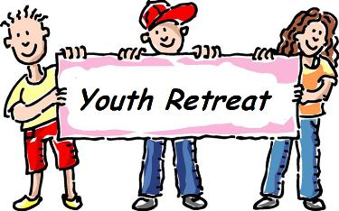 Youth Retreat Clipart.
