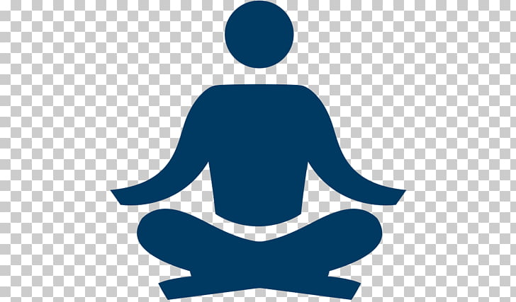 Meditation Mindfulness in the workplaces Computer Icons.