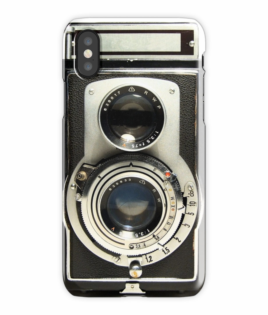 Retro Camera Iphone X Snap Case.