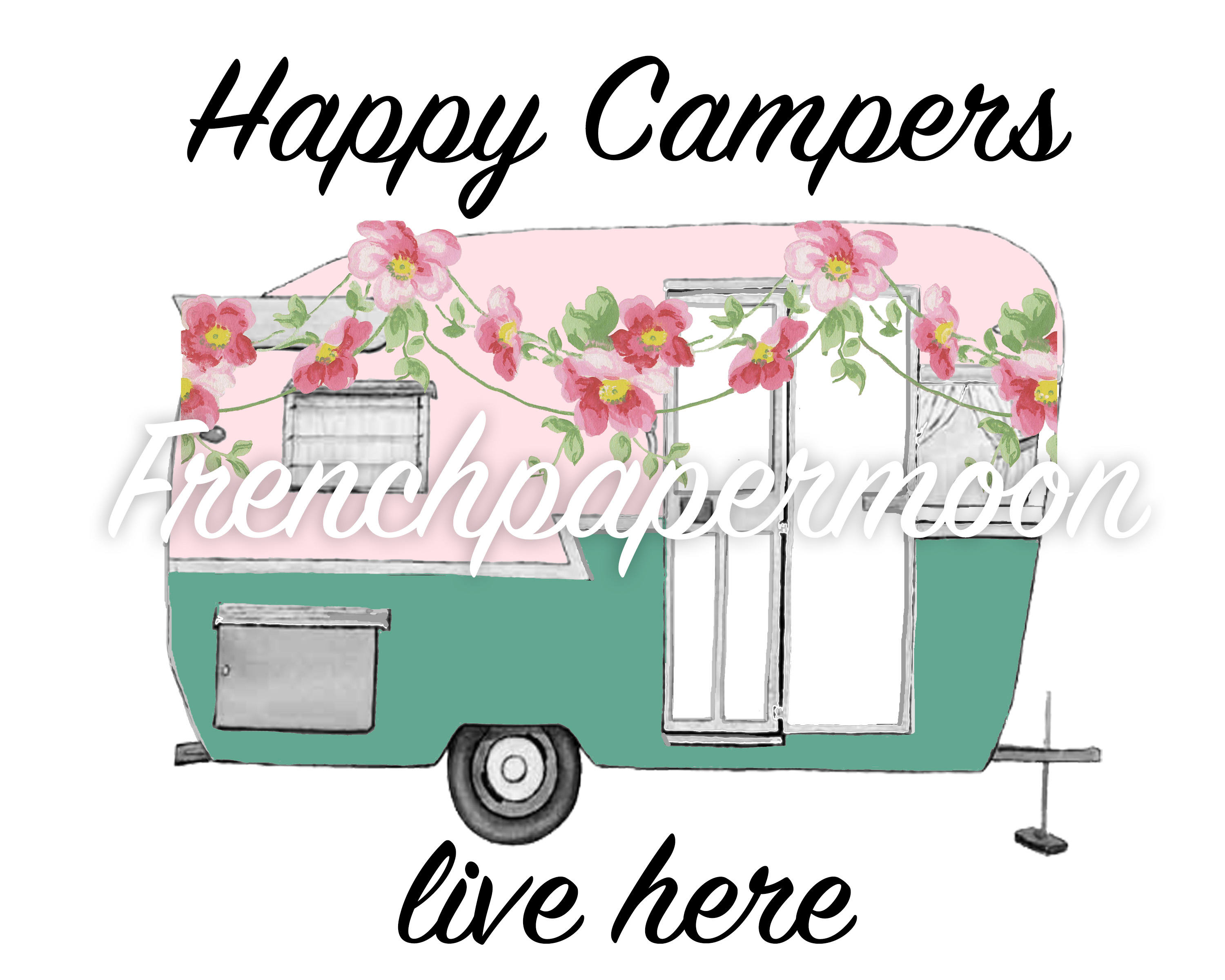 Retro Camper Clipart (100+ images in Collection) Page 1.