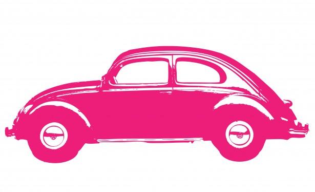 Retro Car Clipart.