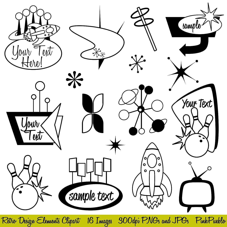 Free Retro 50s Cliparts, Download Free Clip Art, Free Clip.