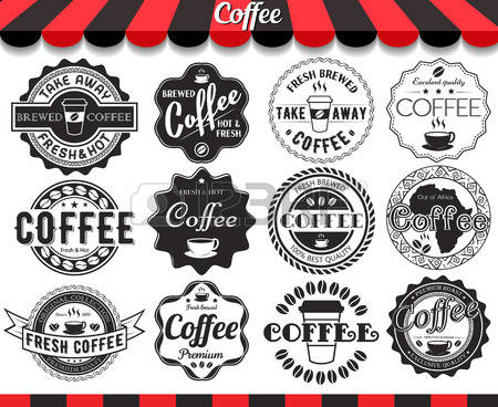 48,776 Vintage Coffee Stock Vector Illustration And Royalty Free.