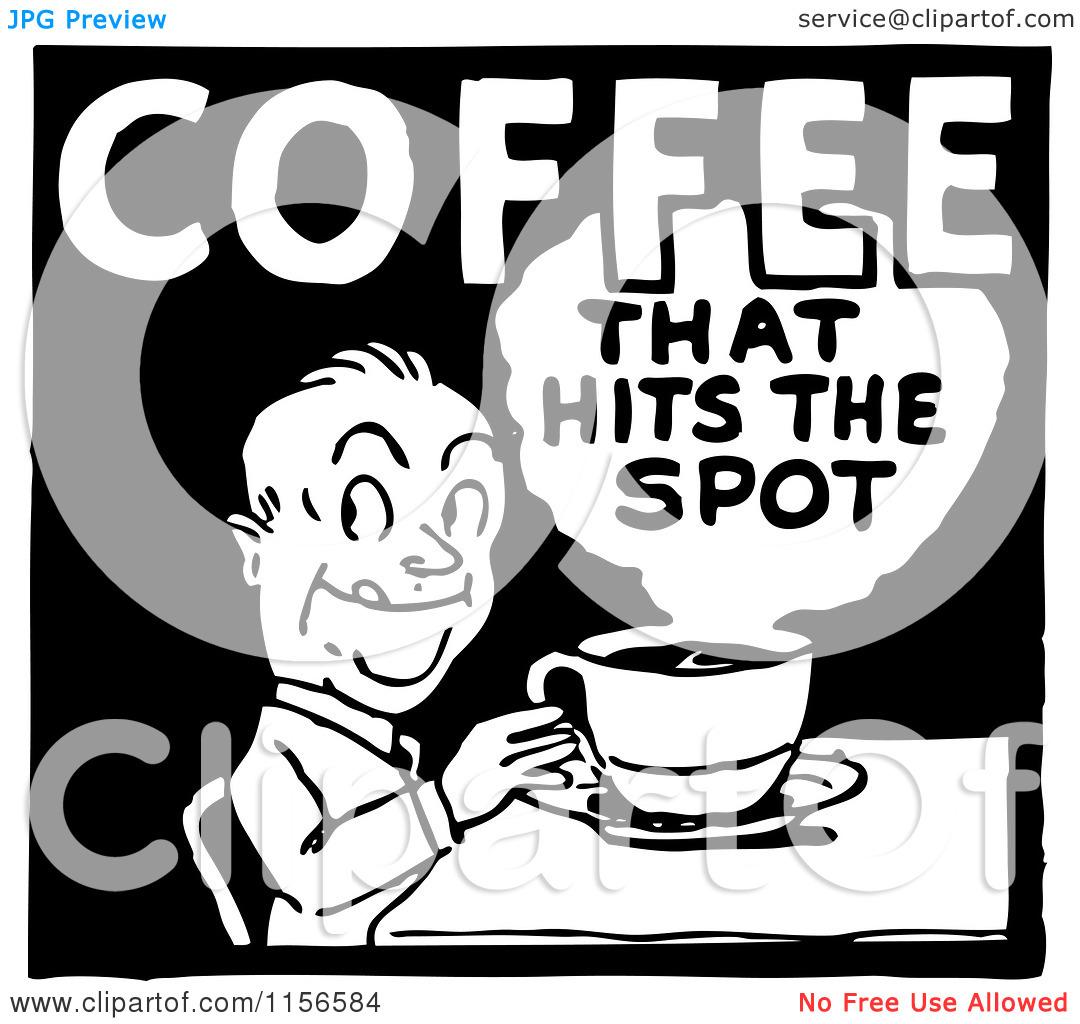 Retro Coffee Clipart.
