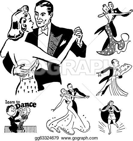 Dance Vectors.