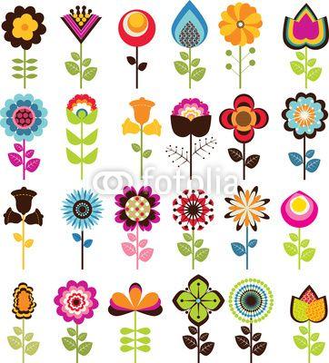 25+ best ideas about Retro Flowers on Pinterest.