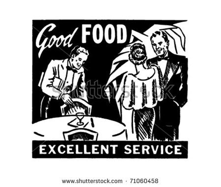 50s Woman Food Clip Art Stock Images, Royalty.