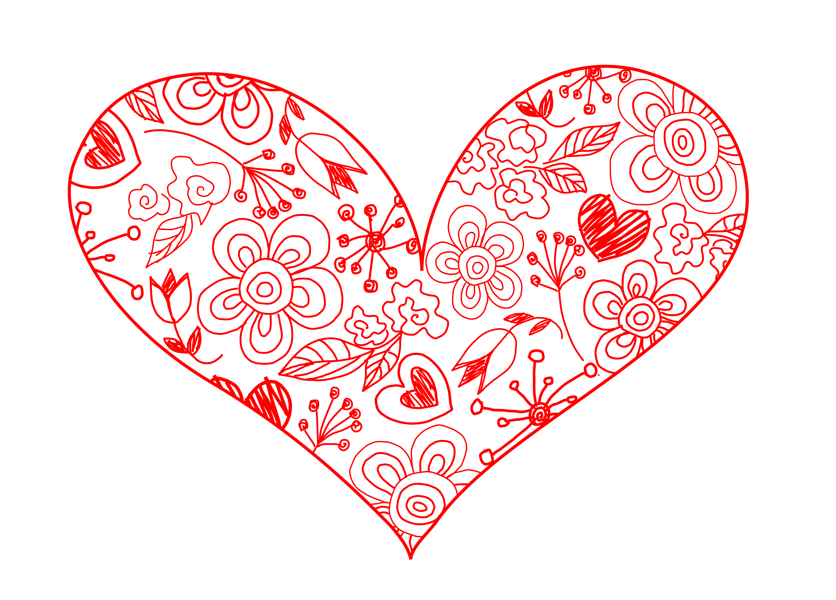 Retro clipart heart, Retro heart Transparent FREE for.