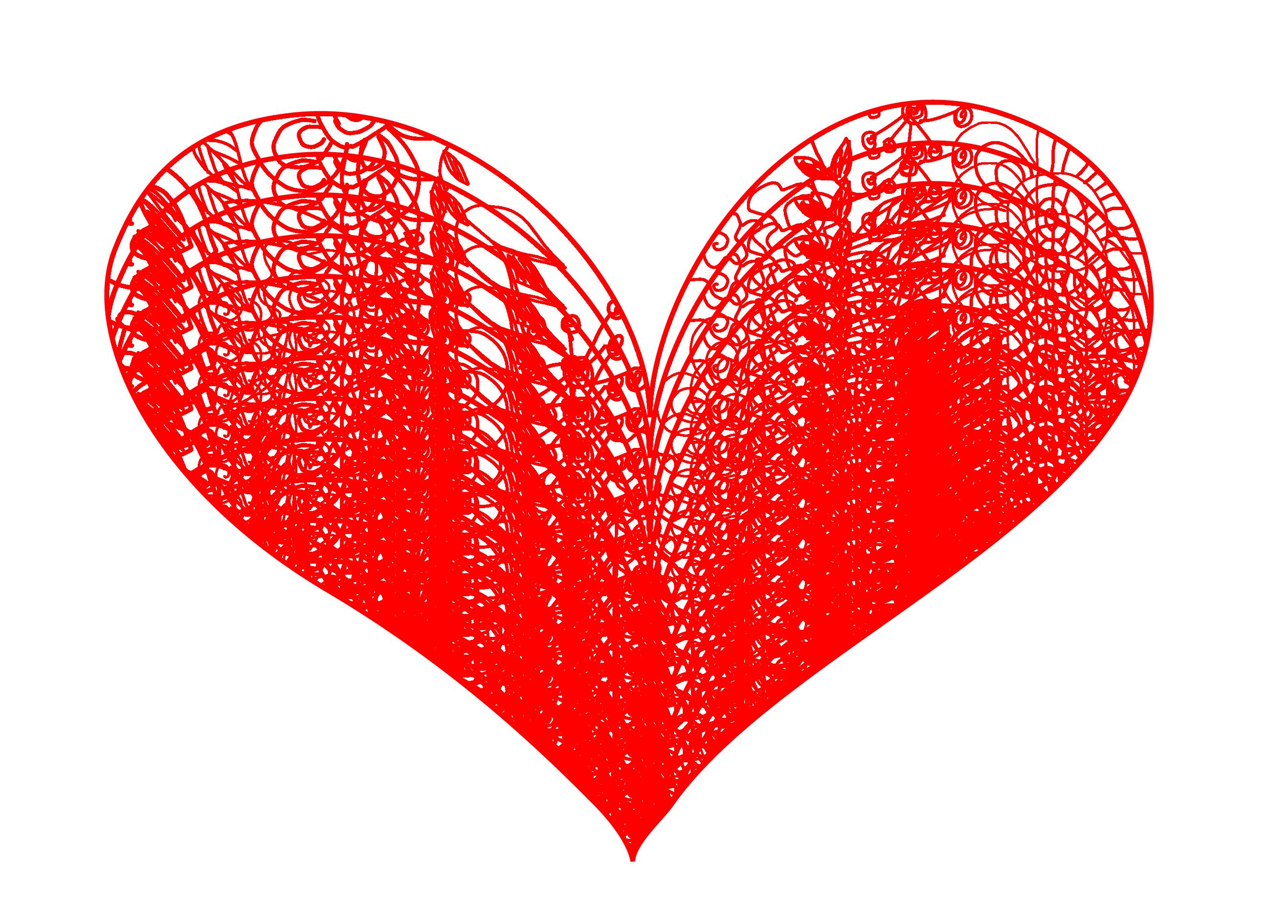 Retro clipart heart, Retro heart Transparent FREE for.