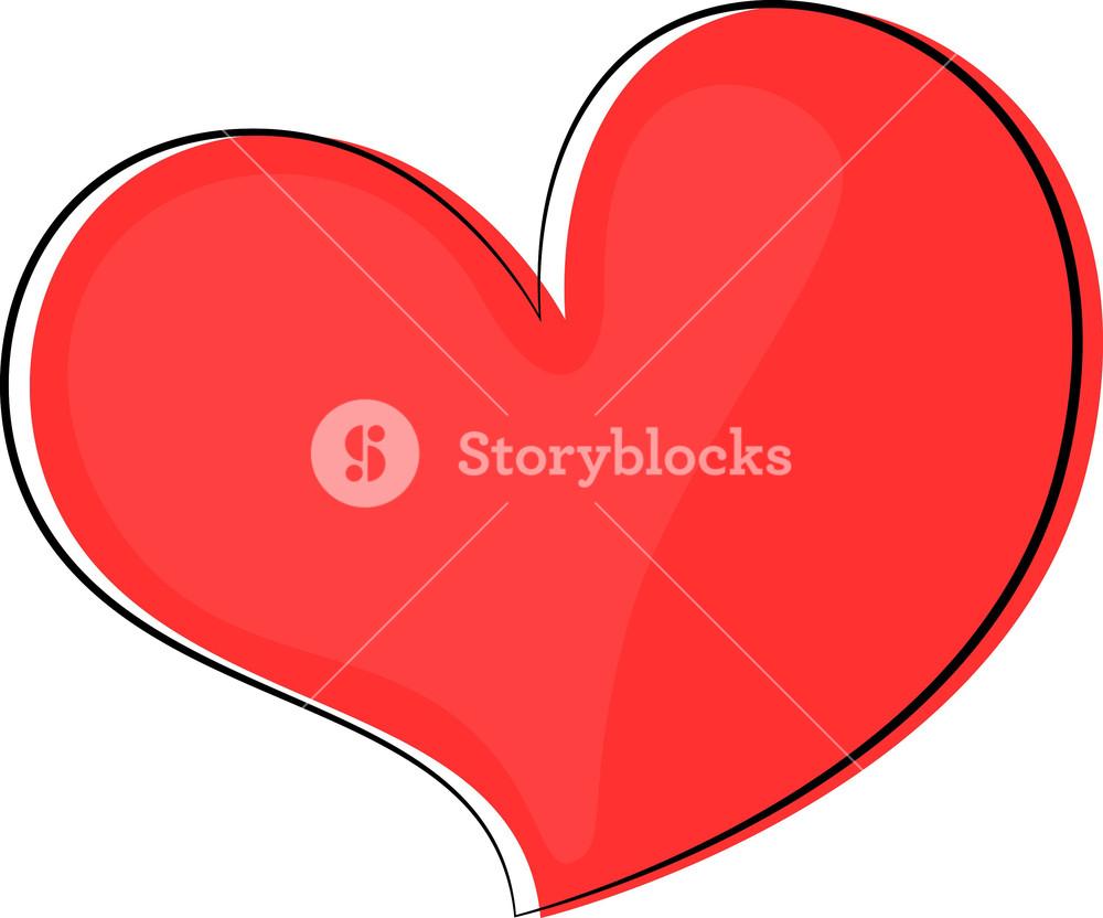Retro Heart Clipart Royalty.