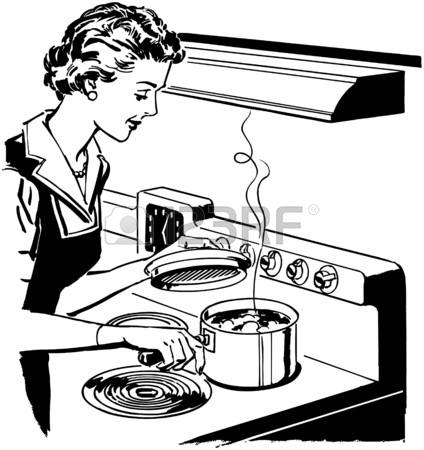 1,490 Retro Housewife Stock Illustrations, Cliparts And Royalty.