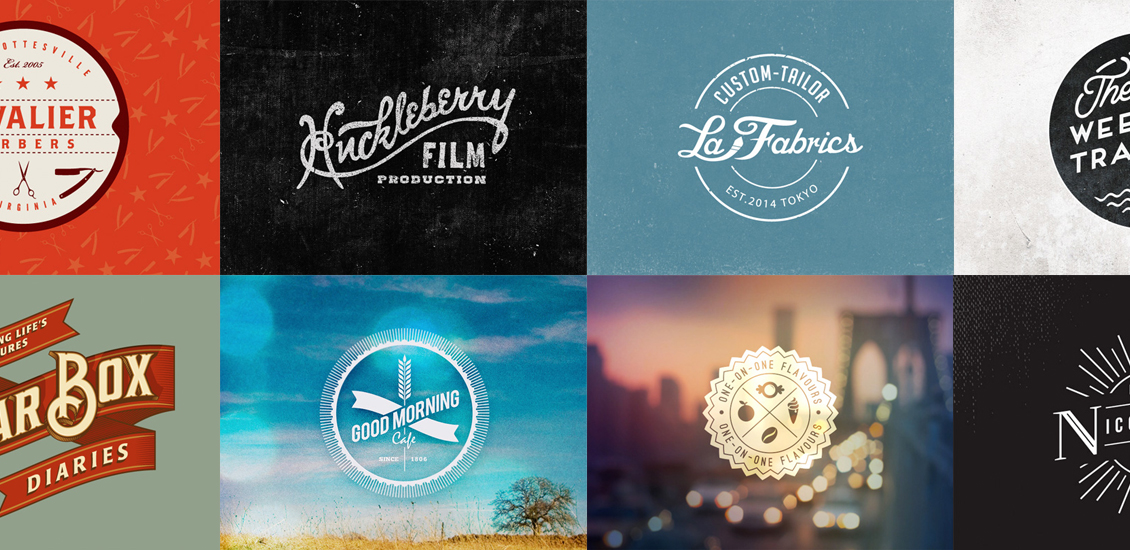 20 Excellent Examples of Retro Logo Designs.