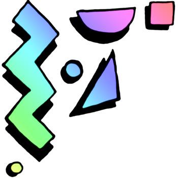 Retro Doodles 77 Sprinklings ClipArt.
