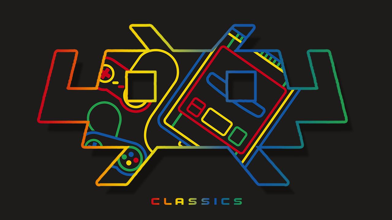 Boot Splash Image: XXL Super Famicom Retroarch Logo.