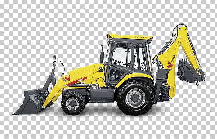 Bulldozer retroexcavadora cargadora wacker neuson.