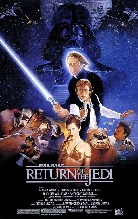 Star Wars: Episode VI Return of the Jedi.