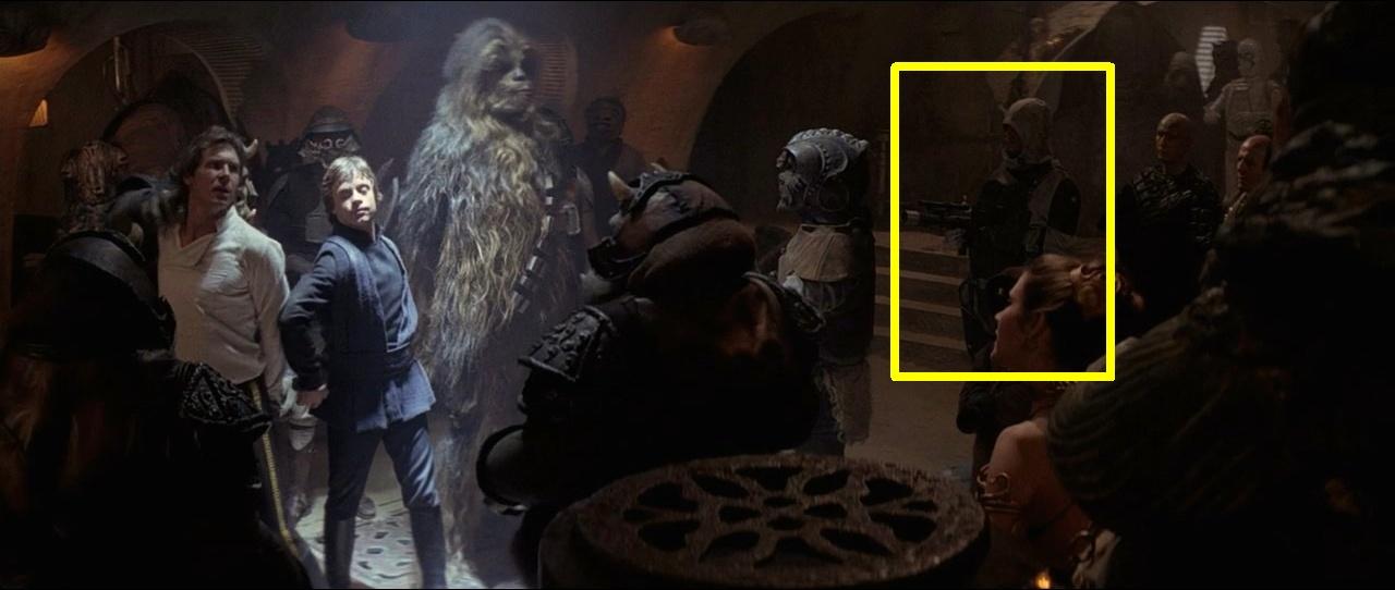 Someone I never noticed in Return of the Jedi : StarWars.