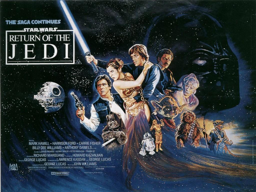 Star Wars VI: Return of the Jedi… My favorite.